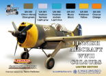 LC-XS09 LifeColor Finnish WWII Aircraft (22ml x 6) Limited Edition Set